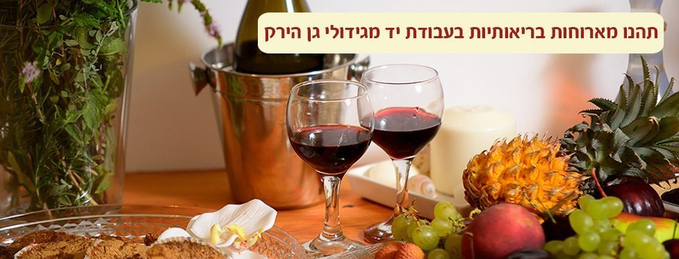 כיבודי בריאות ויין איכותי בספא